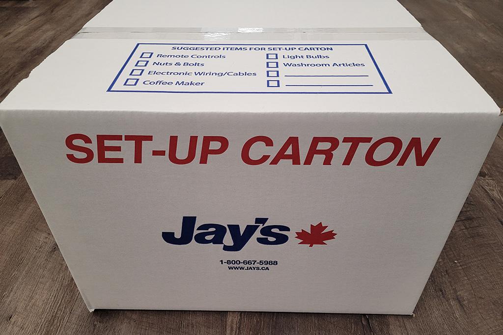 Jay's Set-up Carton